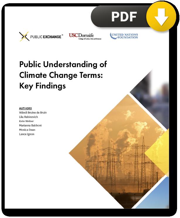 Public-Understanding-of-Climate-Change-Report